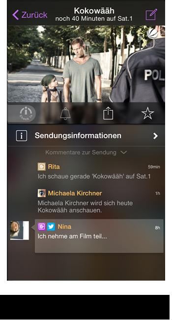 Sendungs-Chat